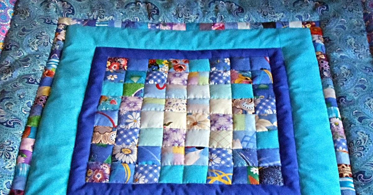 Шьем лоскутное одеяло своими руками 39