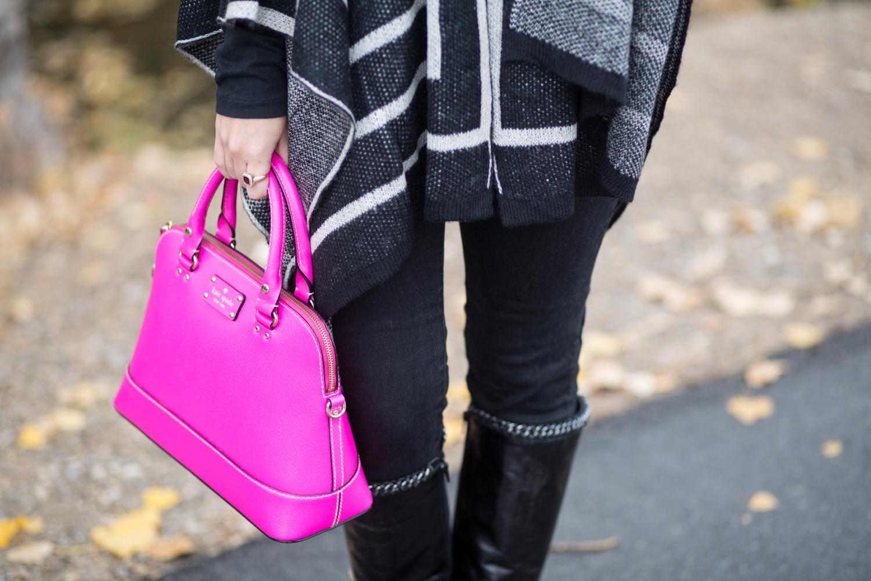 Hot Pink Kate Spade Handbag