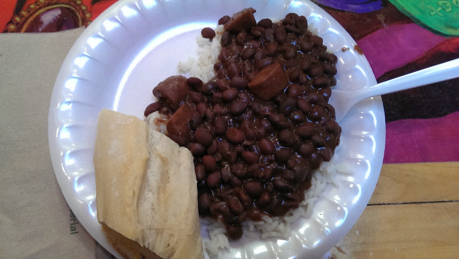 Black Beans and Cajun Sausage