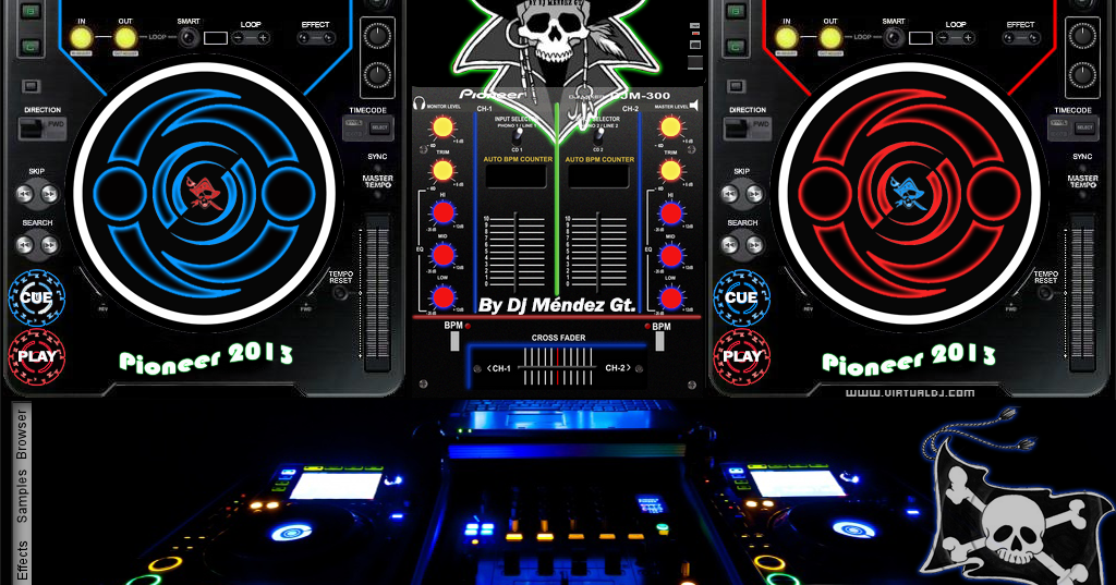 virtual dj 8 pro full download with crack+all new skin