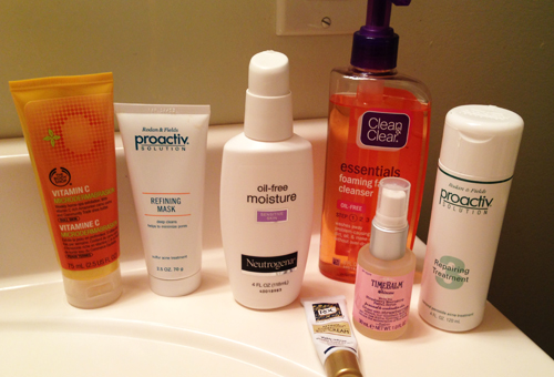 My skin care regimen for oily and acne prone skin icandy so as you know i stepped away from the full proactiv line and it was time to get a new face wash the regimen suggested looking for a facial cleanser solutioingenieria Image collections