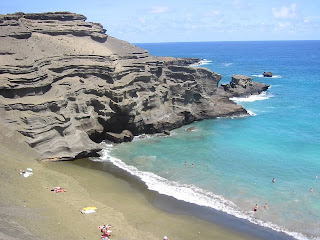 Green Sands Beach photo South Point Big Island