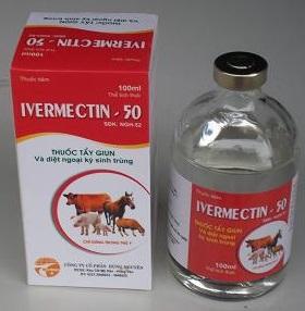 Ivermectin dùng cho thú y. Ảnh minh họa.