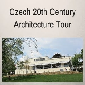Czech 20th-century architecture tour
