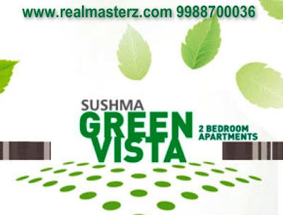 real masterz, real estate, flat, luxury apartment, sushma green vista, old ambala road, zirakpur