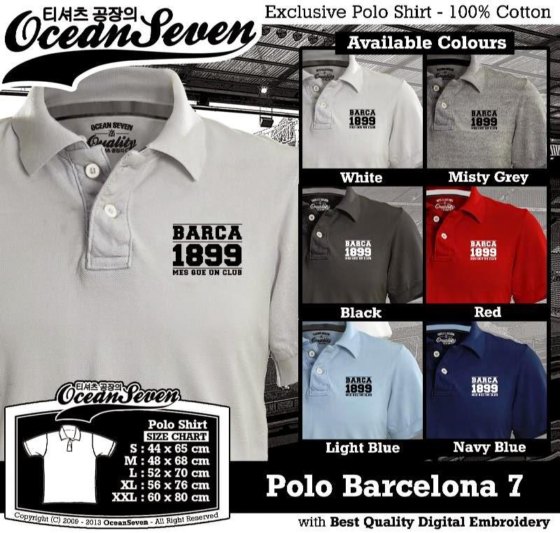 Kaos Polo Barcelona 7