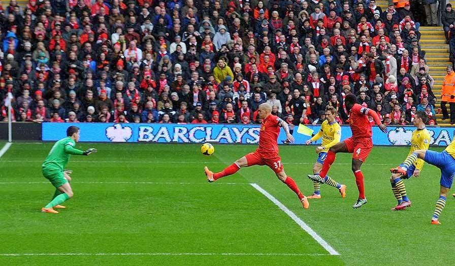 Hasil Liga Inggris, Pekan 25, Liverpol, Arsenal