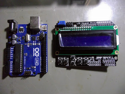 Arduino e Shield de display LCD e Teclado