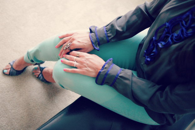 Rebecca Taylor, Jeans, Mint, Texas, San Antonio, Office Wear, Tanvi