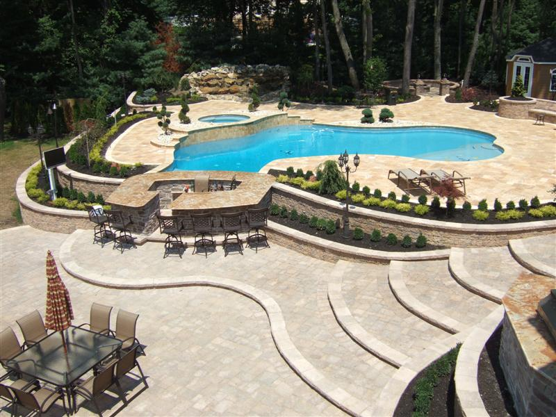 Projects of plenty paver patio expansion - Pool patio design ...