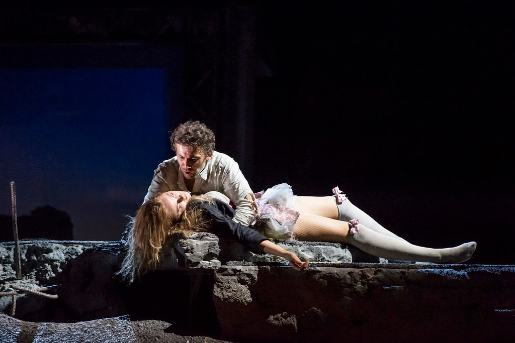 Kristine Opolais and Jonas Kaufmann in Manon Lescaut at the Royal Opera House -  The Royal Opera © ROH / Bill Cooper 2014