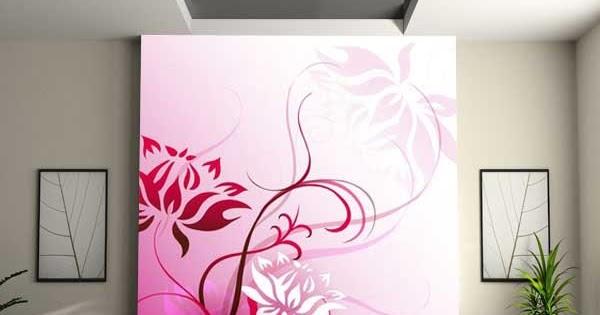 Decorar la pared con un mural papel pintado decoracion - Papel para cubrir paredes ...
