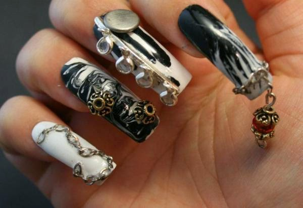 salon nail art