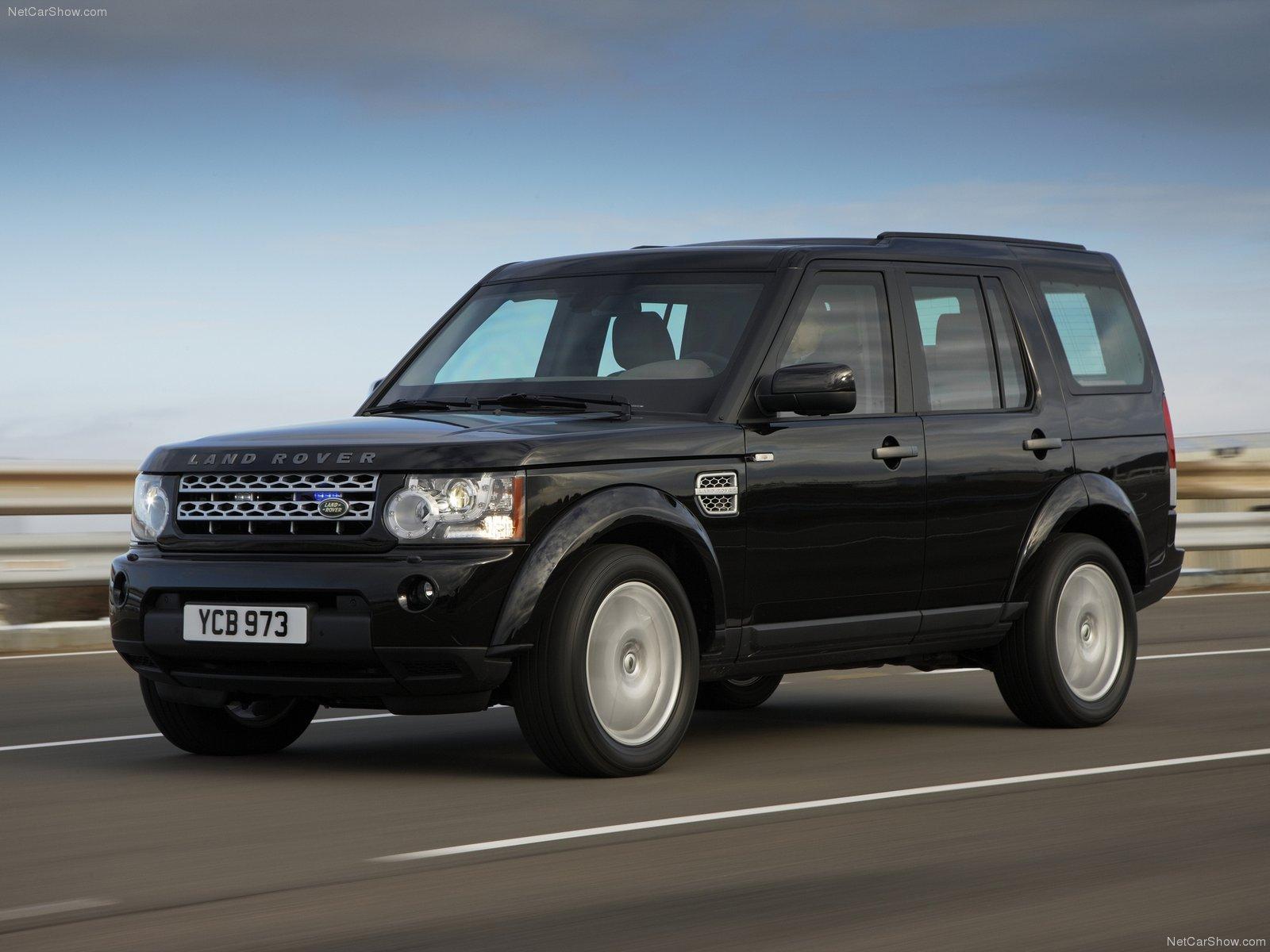 Hình ảnh xe ô tô Land Rover Discovery 4 Armoured 2011 & nội ngoại thất