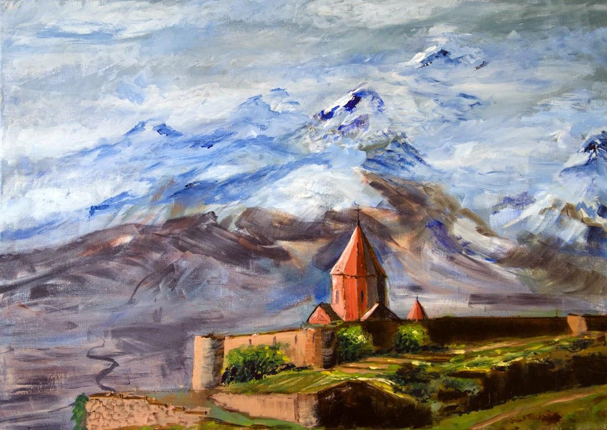acrylique sur toile 50 x 70 cm - acrylic on canvas