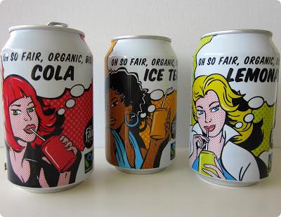 Latas de bebida para reciclar