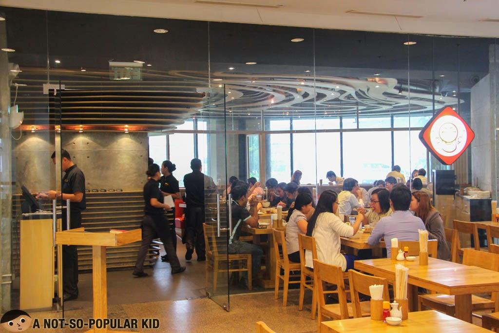 Kenji Tei is housed in Greenbelt 5 of Makati City