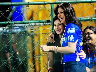 Shilpa Shetty IPL Dresses