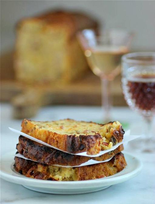 French food friday cake aux olives et jambon - Cake aux olives jambon ...