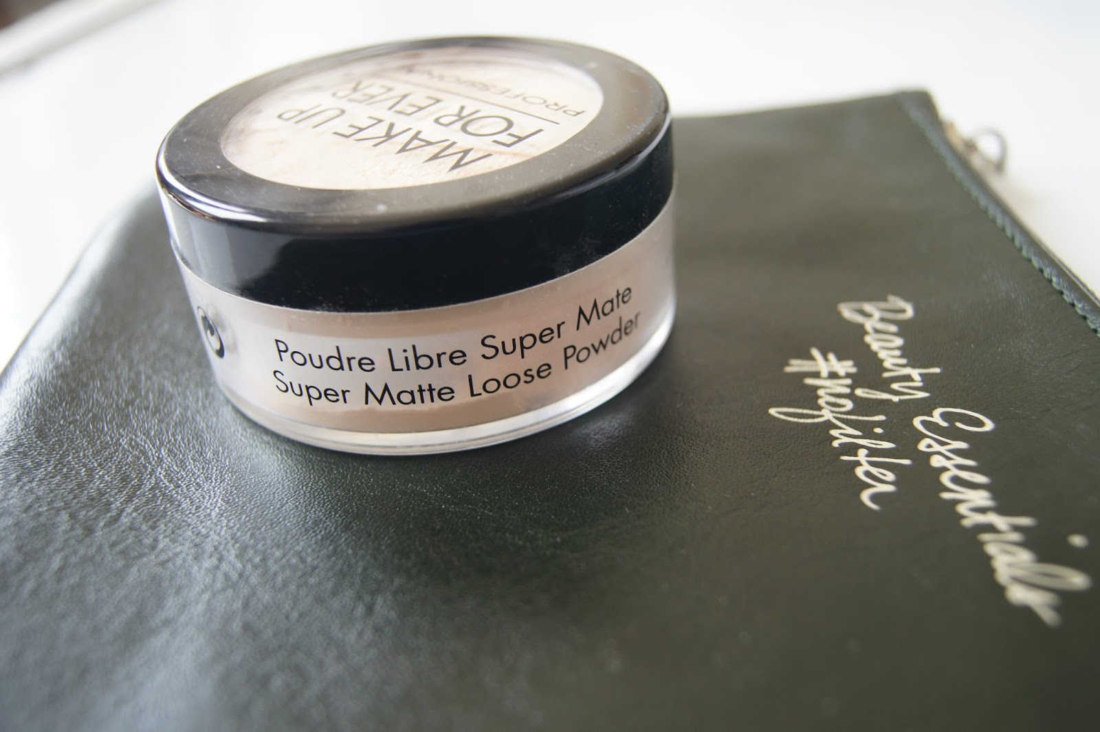 make up for ever super matte loose powder