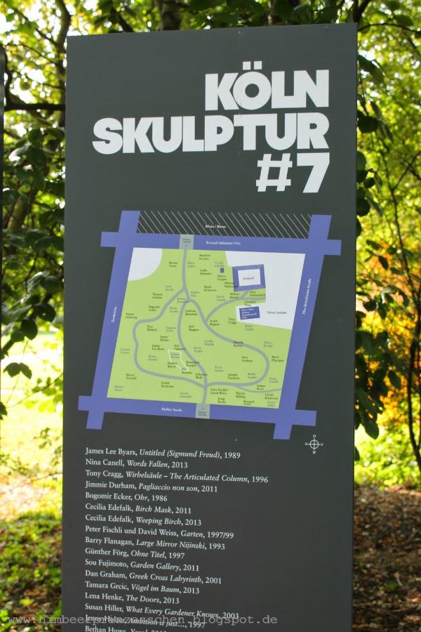 12 von 12 12 v 12 Skulptur Köln #7  Skulpturenpark Köln