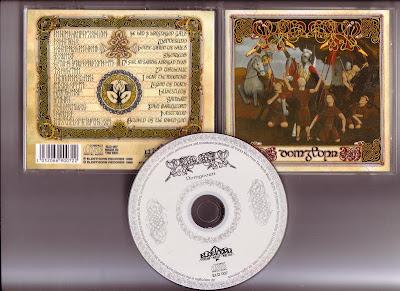 Ragnarok - To Mend The Oaken Heart CD(1997) UK Pagan Folk Black Metal.