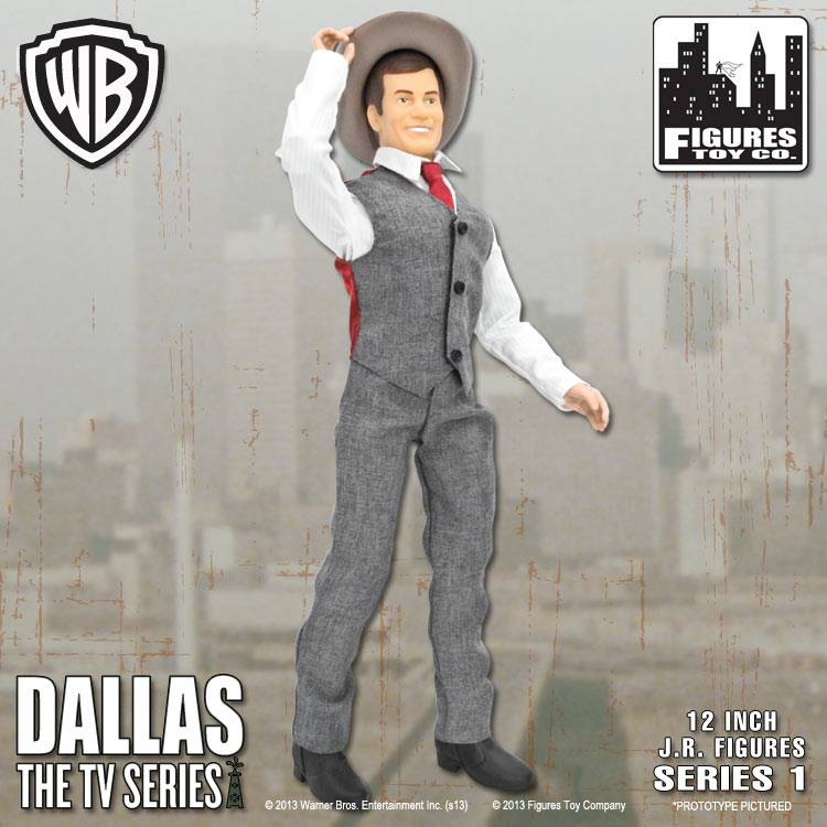 Jr Ewing Figure Dallas 12 Inch Action Figures Series One Who Shot Jr