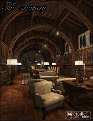 DAZ 3D - The Library
