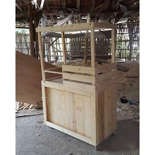 Booth Kayu