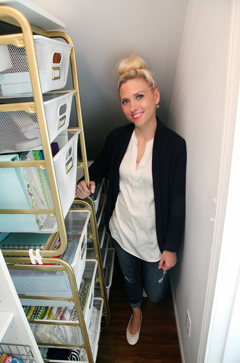 Iheart Organizing Under The Stairs Storage Reveal