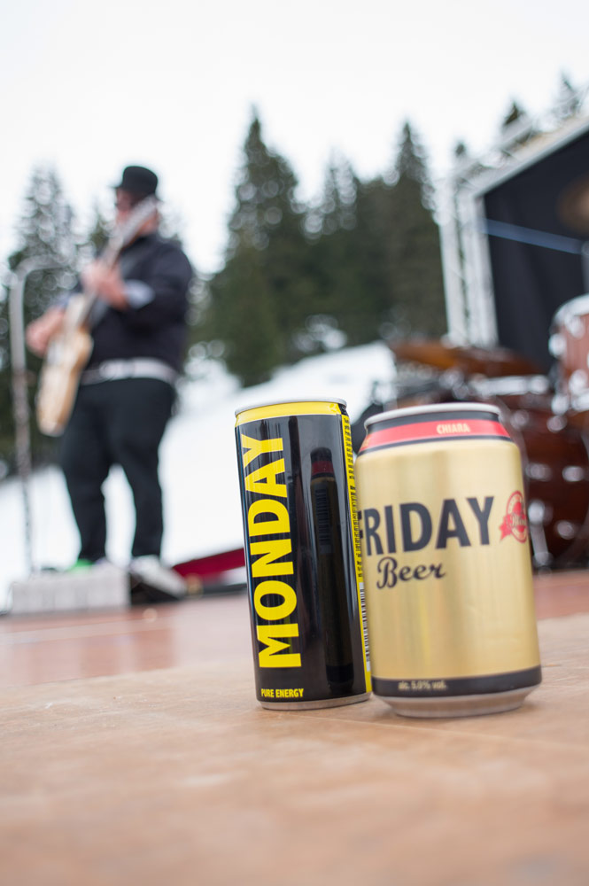Ride on Music 2015 - Friday Beer, Monday Energy Drink