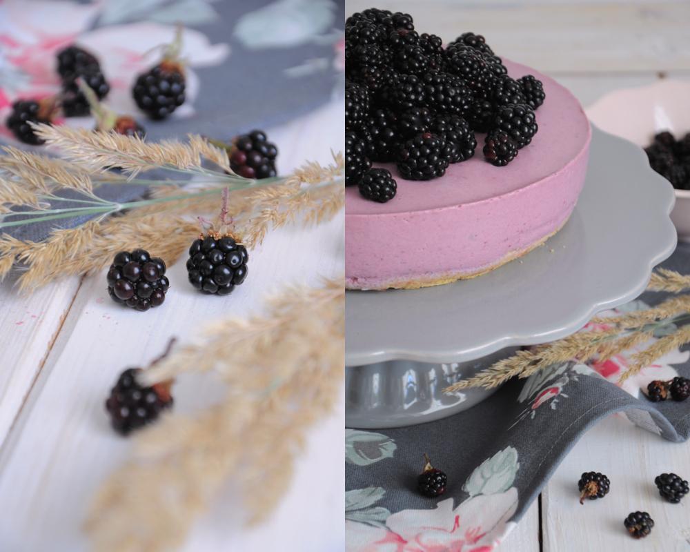 Torte mit griechischem joghurt