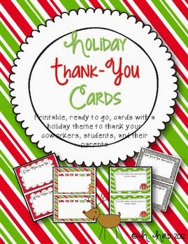 http://www.teacherspayteachers.com/Product/Holiday-Thank-You-Cards-FREE-417878