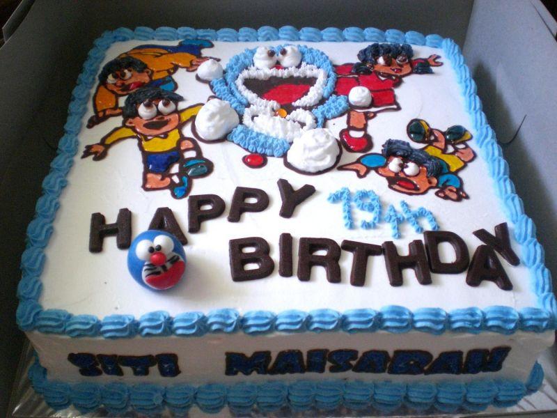 Doraemon Birthday Cake Images Download : Doraemon