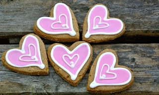 Ma Snax Pink Heart Cookies