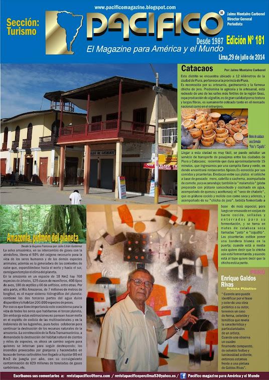 Revista Pacífico Nº 181 Turismo