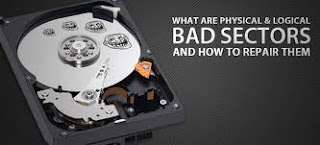 How to repair bad sectors on a hard drive