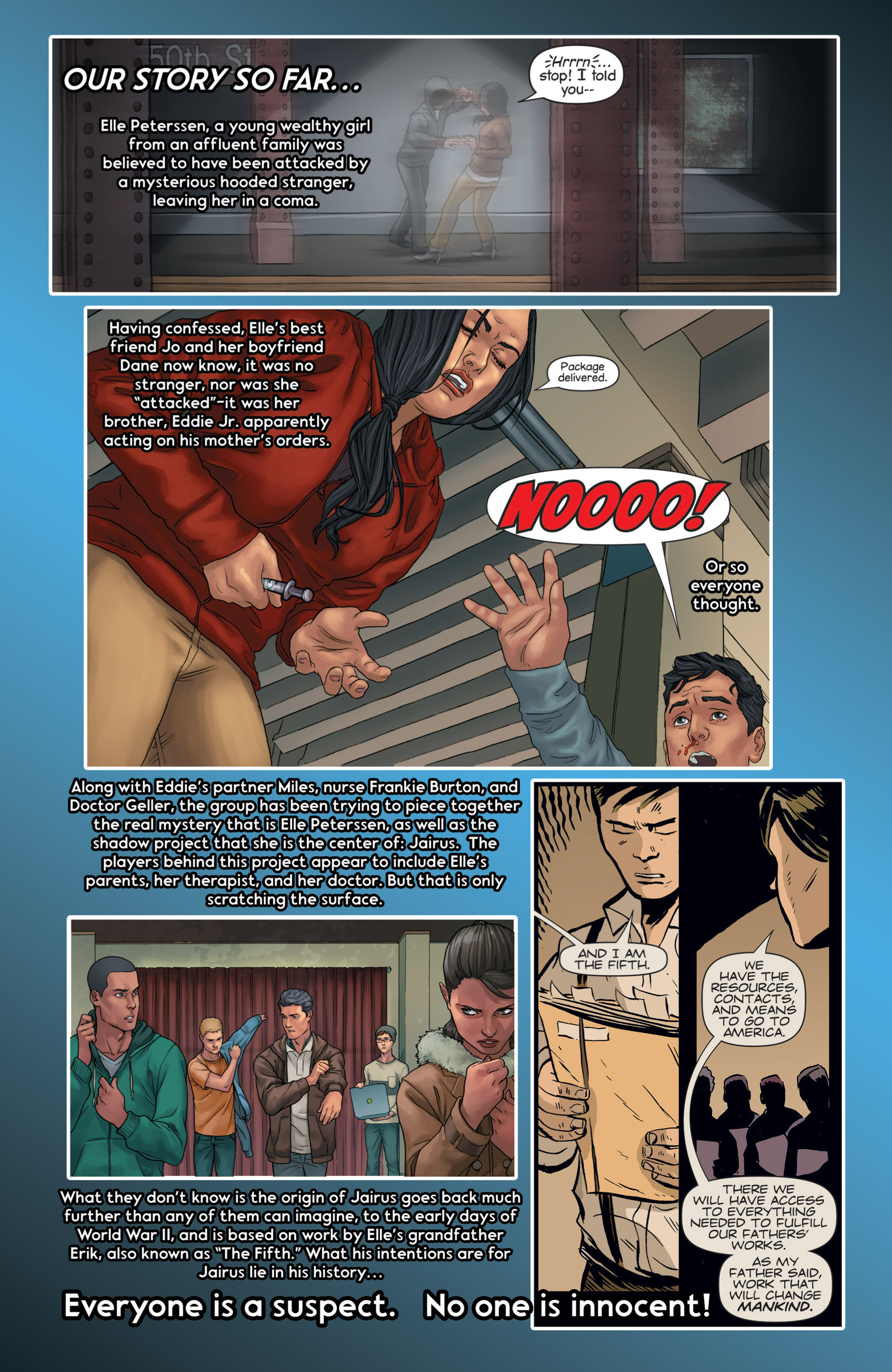 Read online Mind The Gap comic -  Issue #14 - 3