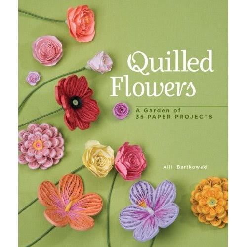 Paper Quilling Book Cover : All things paper quilled flowers a garden of