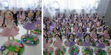 Festa jardim encantado das bonecas