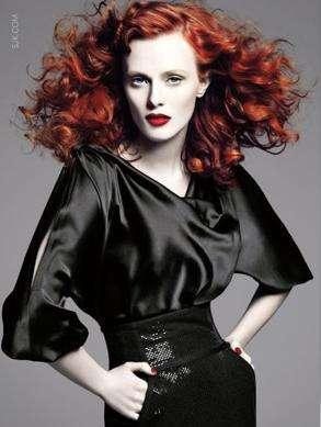 Immagini di donne dai capelli rossi