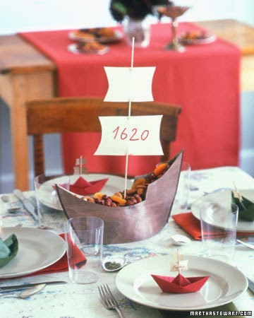 Martha Stewart sailboat centerpiece tutorial/printable