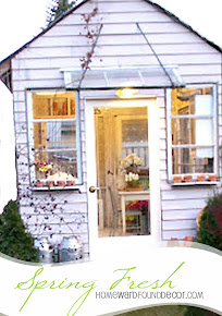 GARDEN HOUSE MAKEOVER