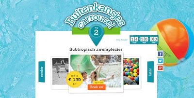 www.buitenkansjes.nl Buitenkansjes carroussel: Dag 2: profiteert van hoge kortingen op parken met Subtropisch zwemplezier