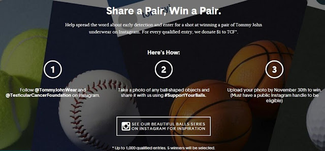 support testicular cancer with tommy john