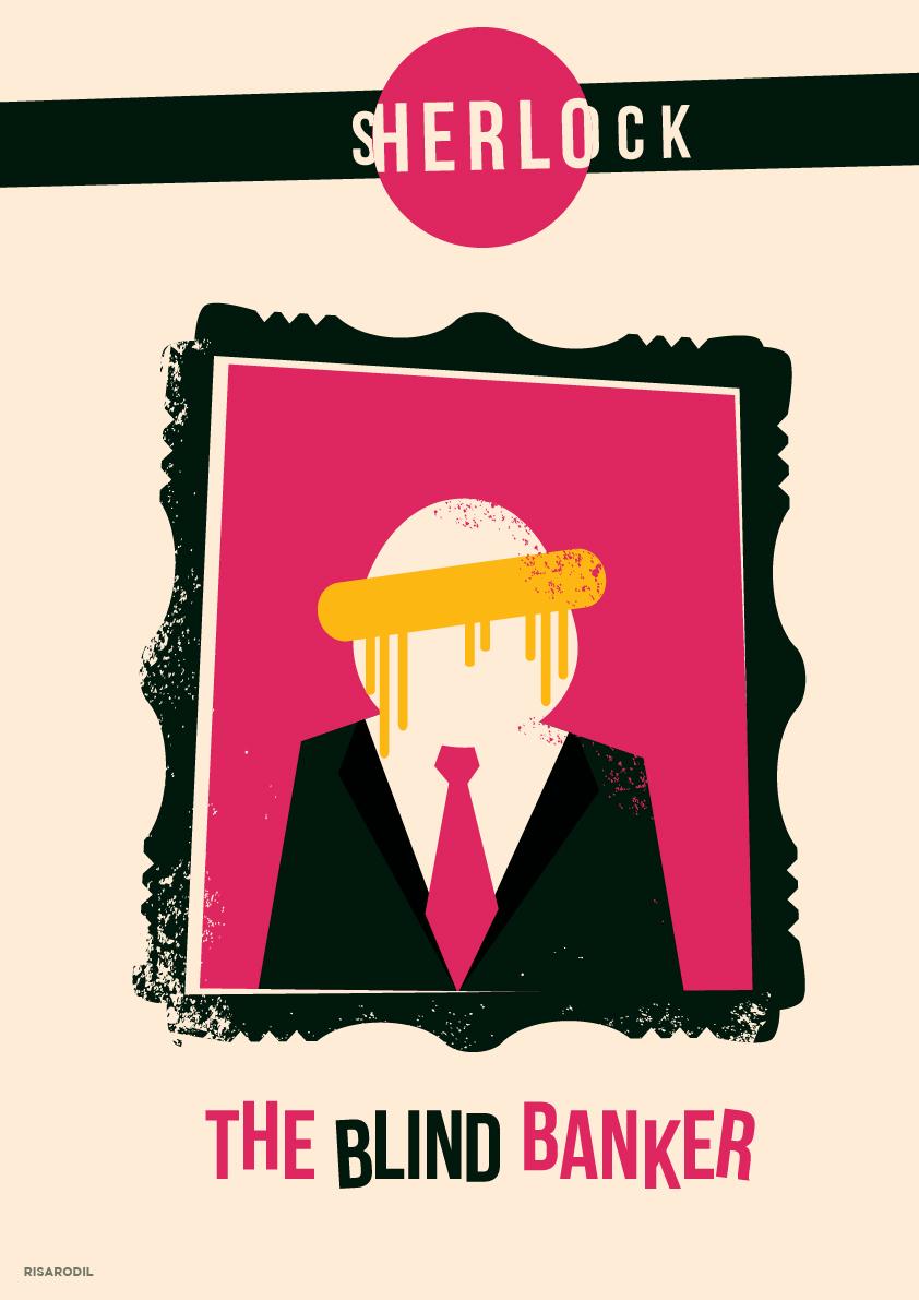 Doctor Ojiplatico.Risa Rodil. Sherlock Minimal Poster