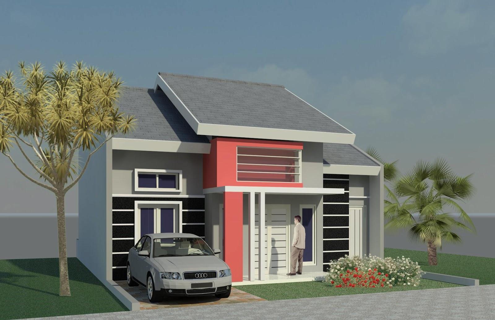 Design Rumah Minimalis 1 Lantai Modern Type 21 36 45 60 2014
