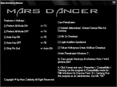 Simple Hack v.6088 Mars Celebrity Dancer