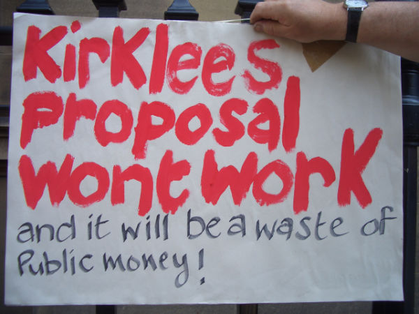 Archive for may 2012 a poster from the demonstration outside the council offices today wednesday fandeluxe Choice Image