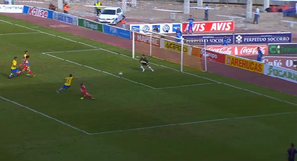 1-0 Gol Roque Mesa